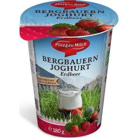 Pinzgau Milch Bergbauern Joghurt Erdbeer