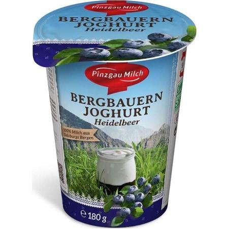 Pinzgau Milch Bergbauern Joghurt Heidelbeere