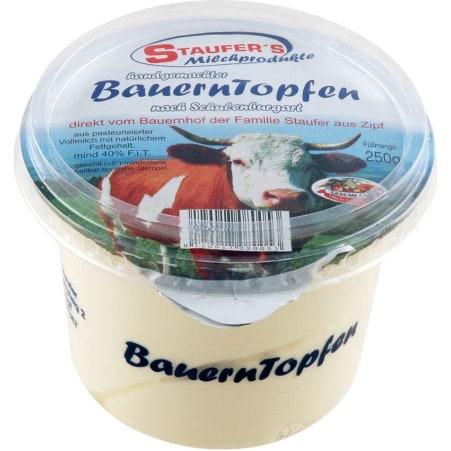 Staufer's Milchprodukte Bauern Topfen