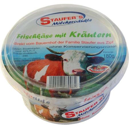 Staufer's Milchprodukte Frischkäse mit Kräuter