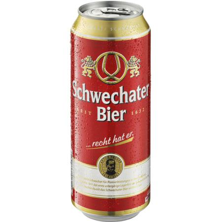 Schwechater Bier Bier 24x 0,5 Liter Dose
