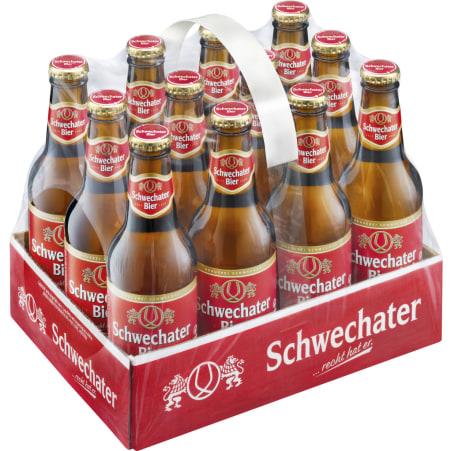Schwechater Bier Tray 12x 0,33 Liter Einweg-Flasche