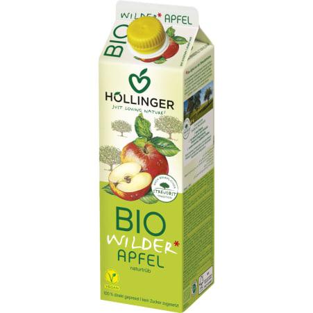 Höllinger Bio Apfelsaft naturtrüb 1,0 Liter