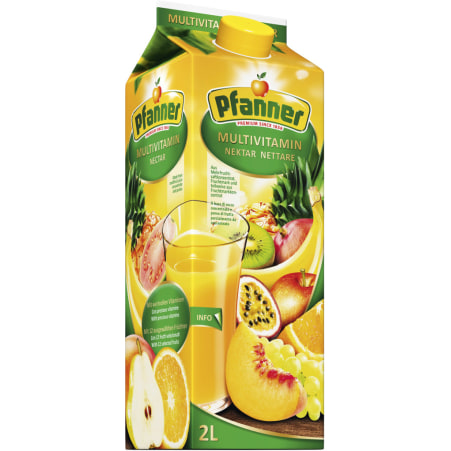 Pfanner Multivitamin 2,0 Liter