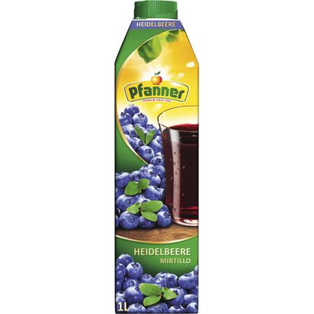 Pfanner Heidelbeere 1,0 Liter