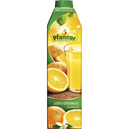 Pfanner Orange 100% 1,0 Liter