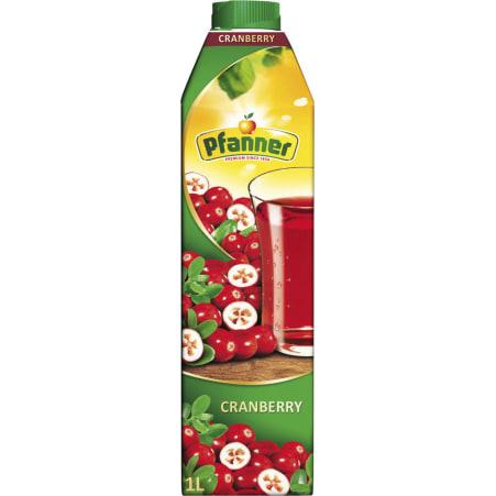 Pfanner Cranberry 1,0 Liter