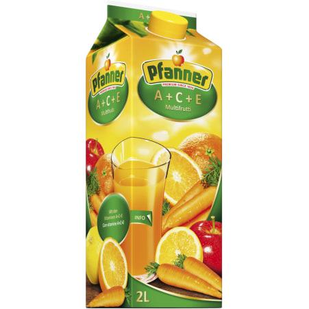Pfanner Mehrfruchtsaft ACE 2,0 Liter