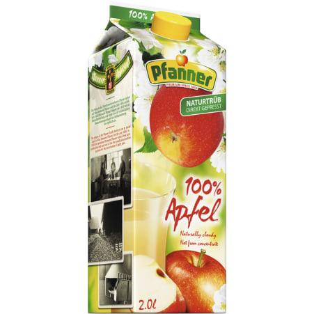 Pfanner Apfel naturtrüb 2,0 Liter