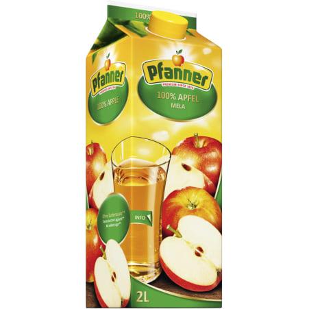 Pfanner Apfelsaft ohne Zuckerzusatz 2,0 Liter