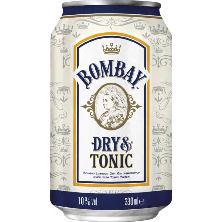 BOMBAY Original Dry & Tonic 10% Dose