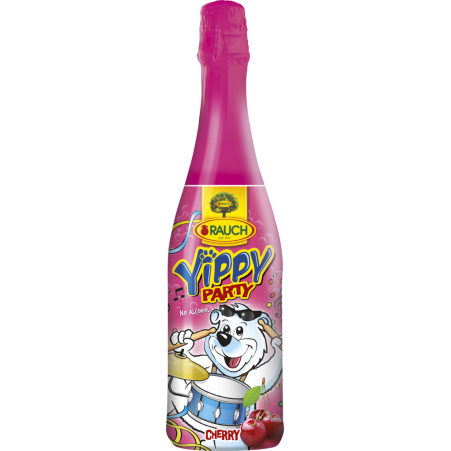 Rauch Yippy Kindersekt Party Cherry 0,75 Liter
