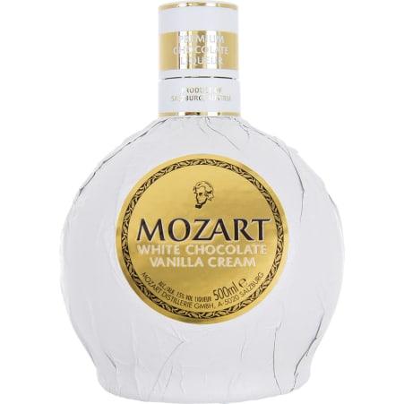 Mozart Chocolate Cream Likör White 15%