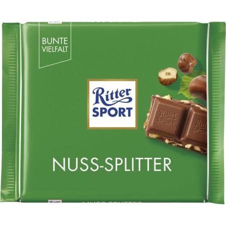 RITTER SPORT Schokolade Bunte Vielfalt Nuss-Splitter
