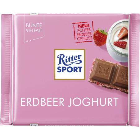RITTER SPORT Bunte Vielfalt Erdbeer Joghurt