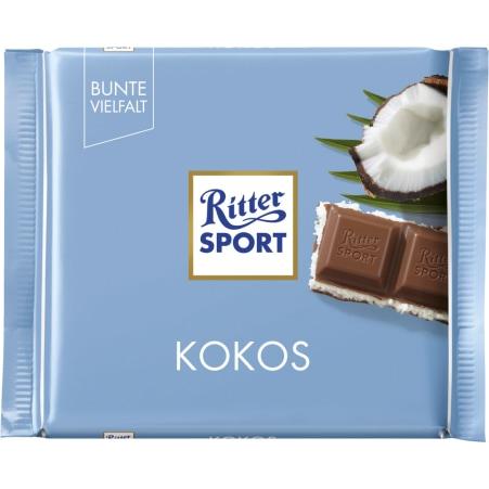 RITTER SPORT Schokolade Bunte Vielfalt Kokos