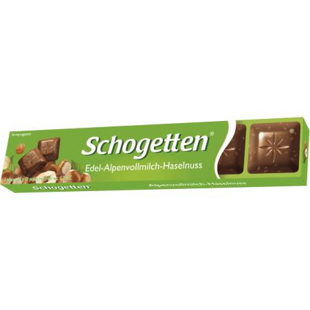 Schogetten Riegel Alpenvollmilch Nuss