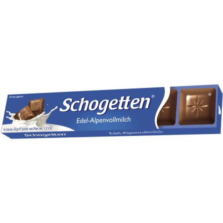 Schogetten Riegel Alpenvollmilch