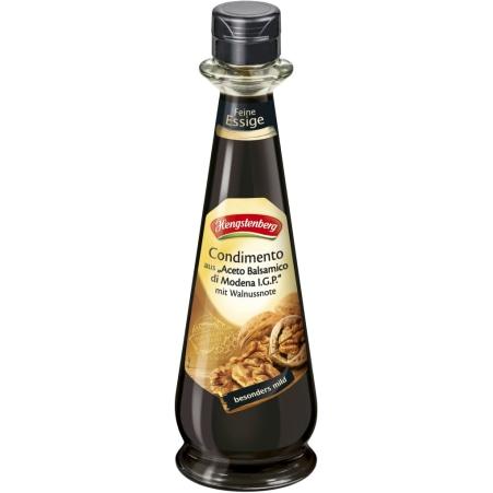 Hengstenberg Condimento Balsamico mit Walnussnote