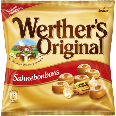 WO Hartbonbon Werther´s Original Sahnebonbons
