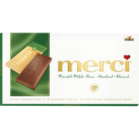 merci Tafelschokolade Schokolade Merci Mandel-Milch-Nuss