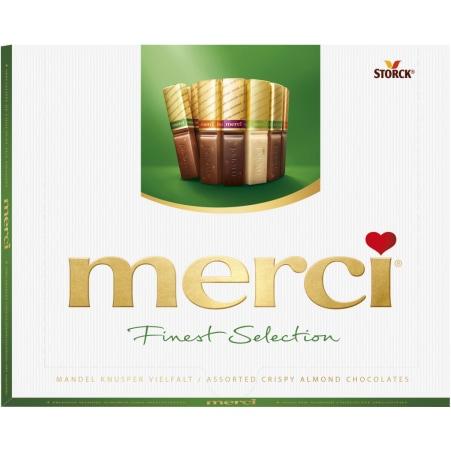 merci Vielfalt Merci Finest Selection Mandel Knusper