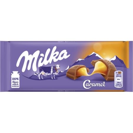 MILKA Schokolade Caramel 100 gr