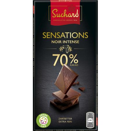 SUCHARD Schokolade Sensations Noir Zartbitter 70%