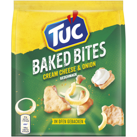 TUC Baked Bites Cheese & Onion