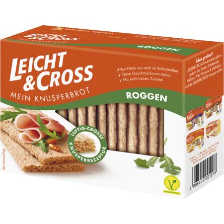 Leicht & Cross Knusperbrot Roggen