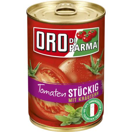 Hengstenberg Oro di Parma Tomaten stückig Kräuter