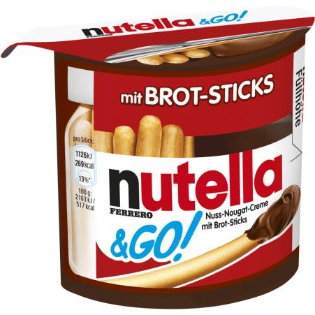 Nutella Nutella & GO