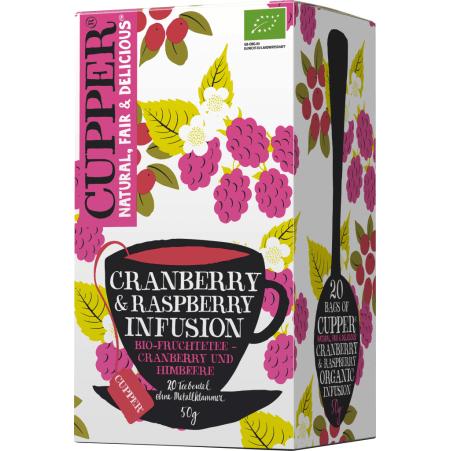 Cupper Tee Cranberry & Raspberry