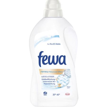 Fewa Brilliant Weiß Flüssigwaschmittel 25 Waschgänge