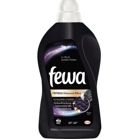 Fewa Brilliant Black Flüssigwaschmittel 25 Waschgänge