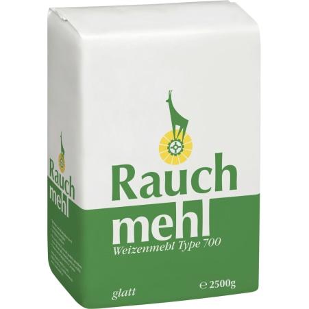 Rauch Mehl Weizenmehl Glatt Grün Type 700 2,5 Kilo