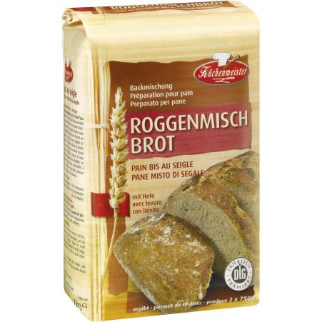 Küchenmeister Roggen-Backmischung