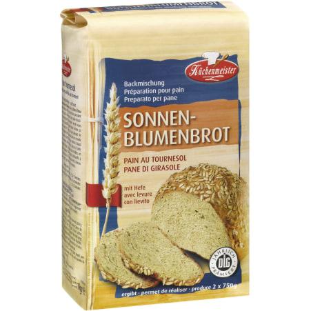 Küchenmeister Küchenmeister Sonnenblumen-Brotbackmischung