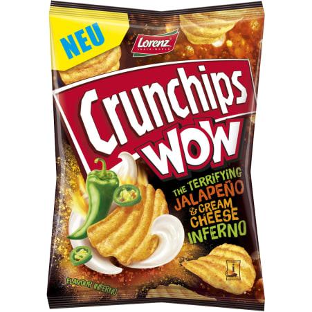 Crunchips Crunchips WOW Jalapeno