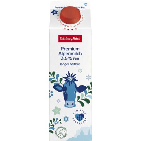 SalzburgMilch Premium Alpenmilch länger frisch 3,5% 1,0 Liter