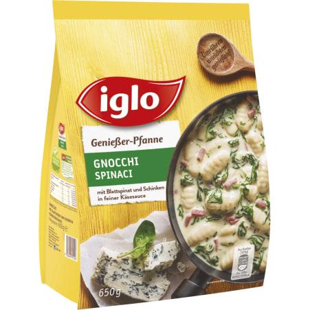 Iglo Genießerpfanne Gnocchi-Spinat