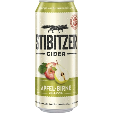 Stibitzer Birne Cider 0,5 Liter Dose