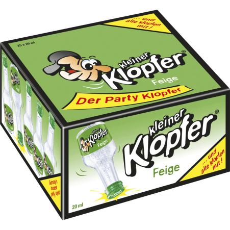Kleiner Klopfer Feige 17% 25x 0,02 Liter