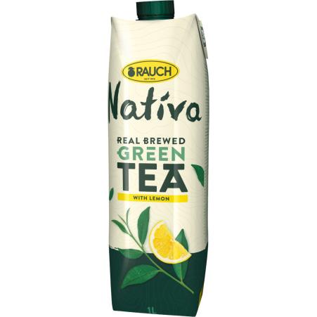 Rauch Nativa Green Tea Lemon 1,0 Liter