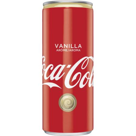 Coca-Cola Vanilla 0,25 Liter Dose