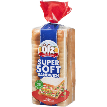 Ölz der Meisterbäcker Super Soft Sandwich 750 gr