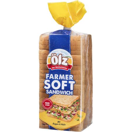 Ölz der Meisterbäcker Farmer Soft Sandwich Toast