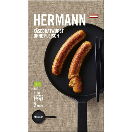 HERMANN Käsebratwurst ohne Fleisch