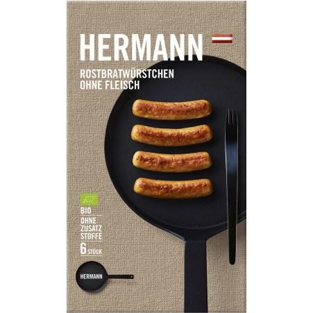 HERMANN Rostbratwürstchen ohne Fleisch