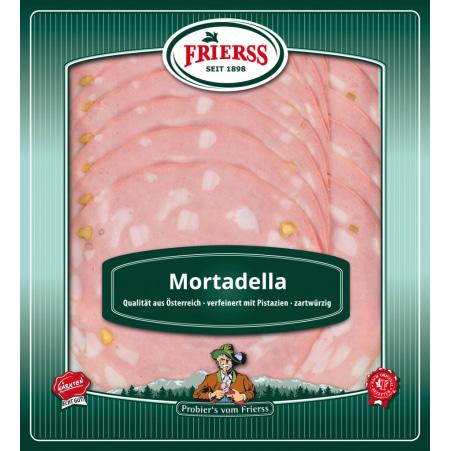Frierss Mortadella geschnitten